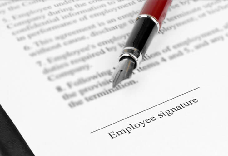 Have you checked your employment contract?